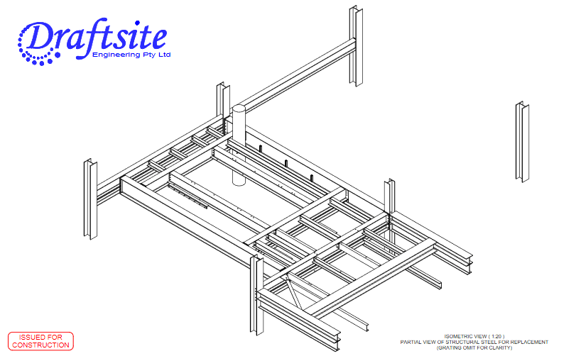 STRUCTURAL STEEL IN WASHERY